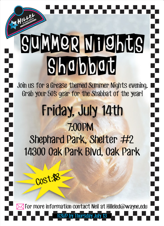 Summer Nights Shabbat