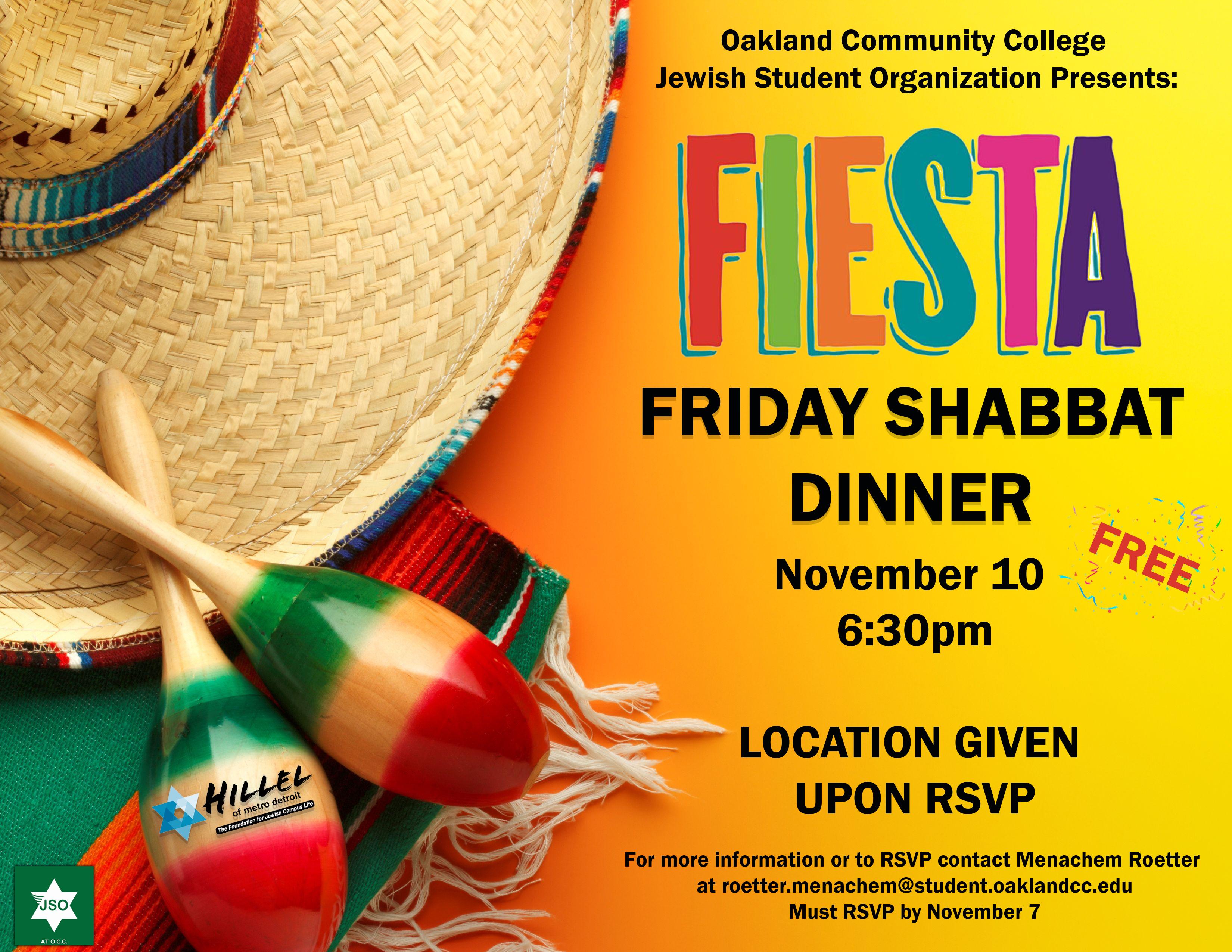 OCC Fiesta Shabbat 2017