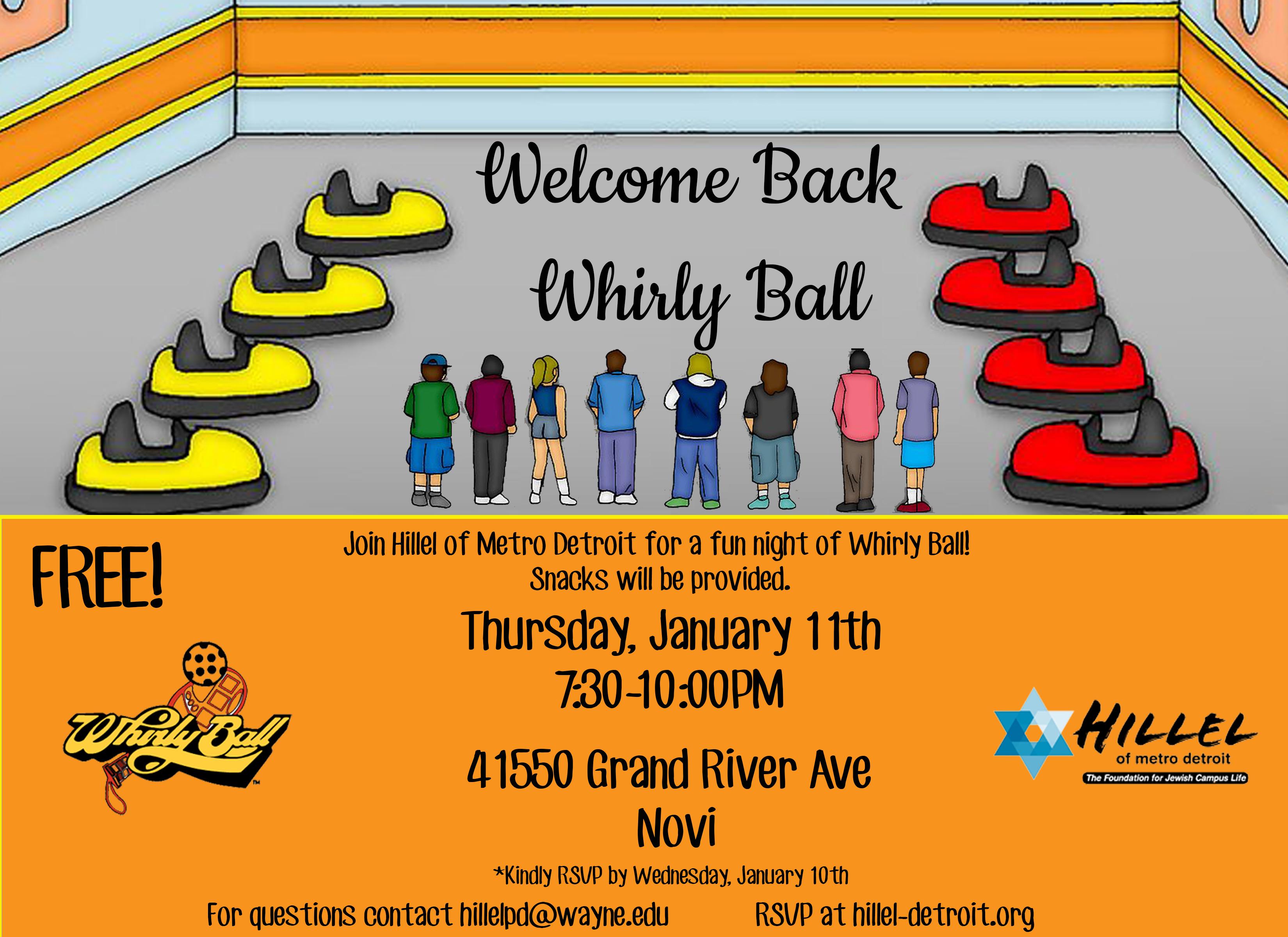 Welcome Back Whirlyball
