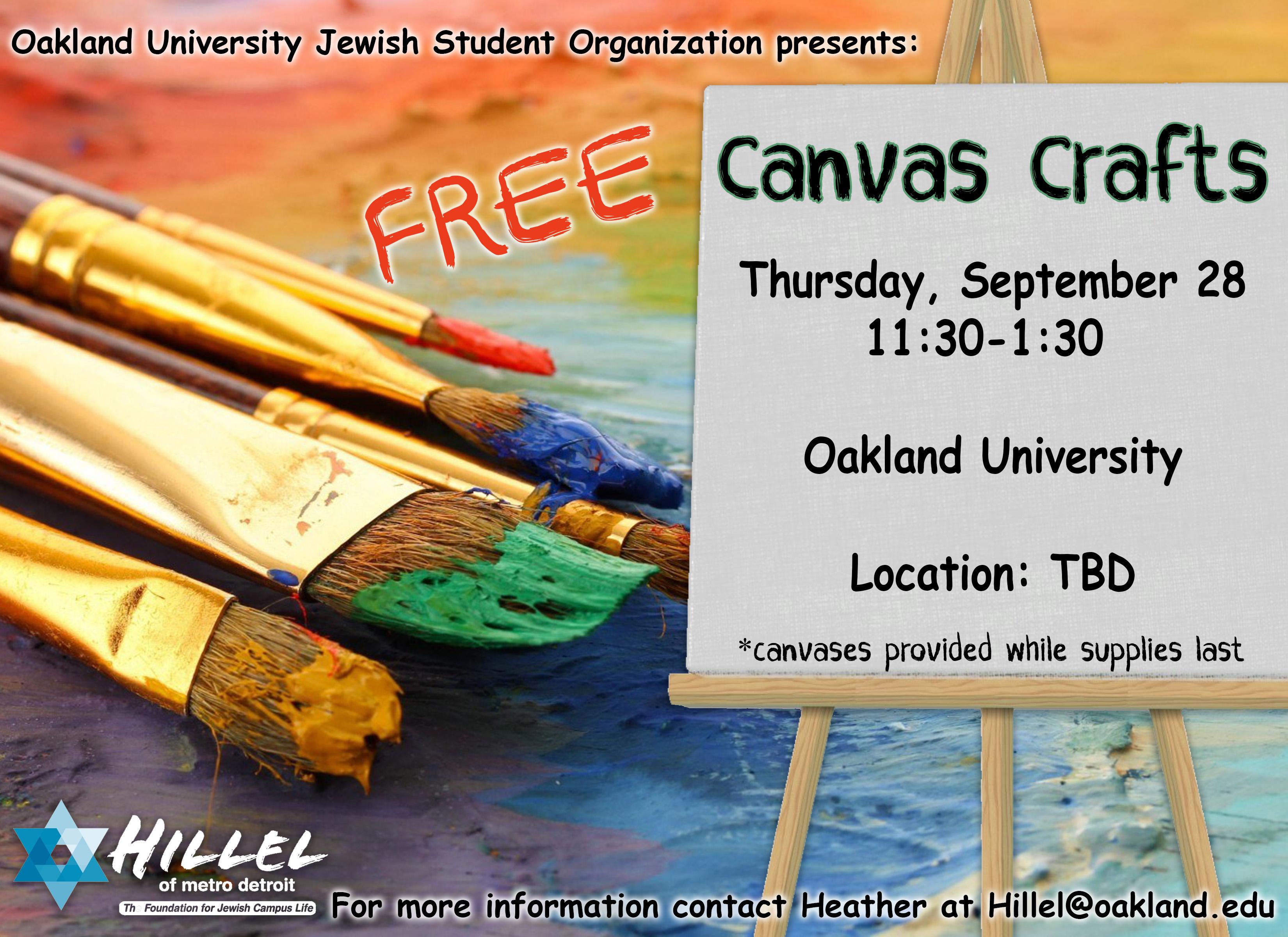 OU Canvas Craft
