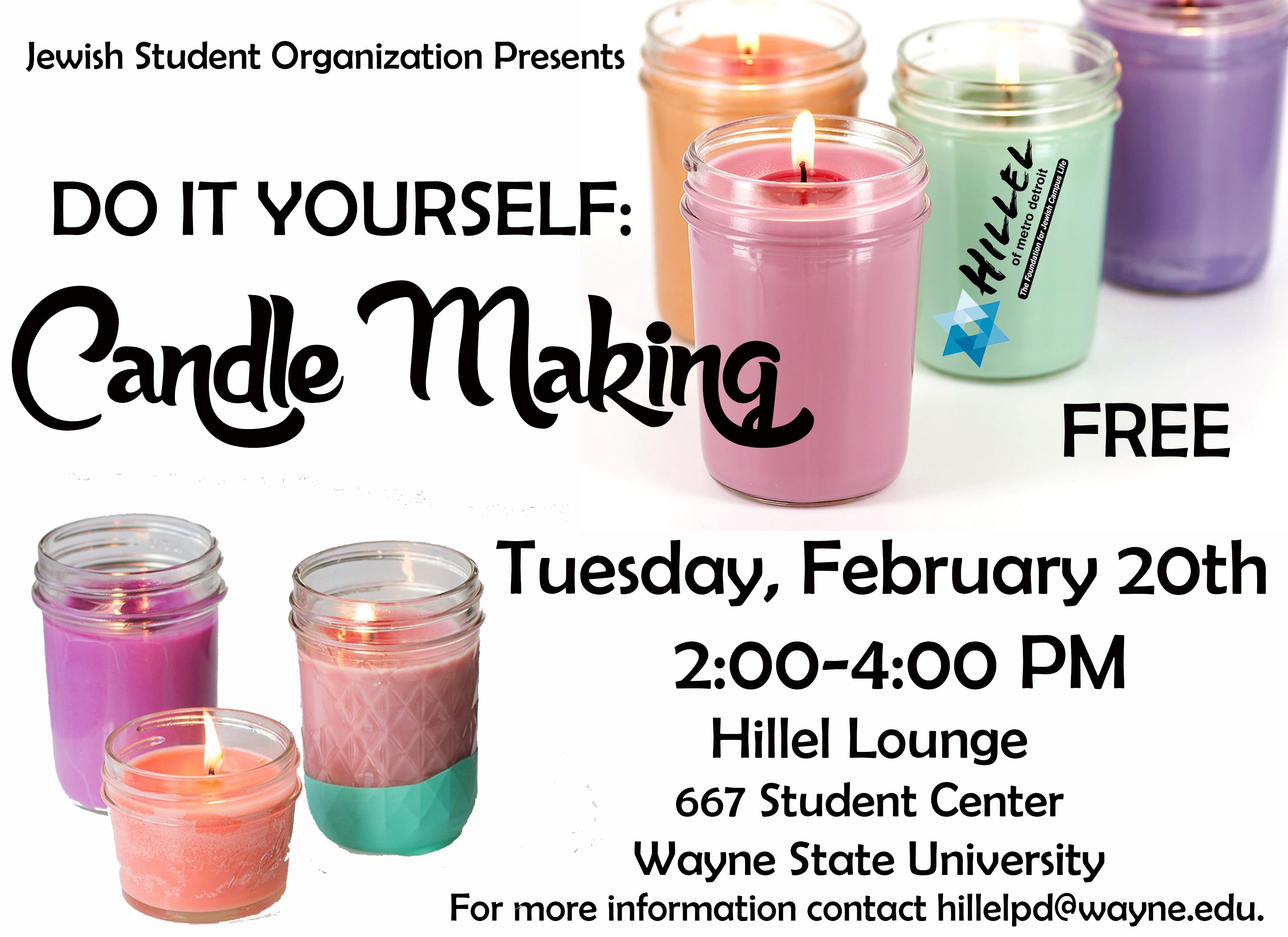 WSU JSO Candle Making 1