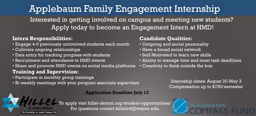 Applebaum Family Engagement Intern