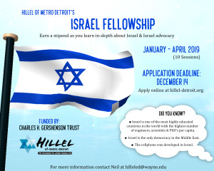 Israel Fellowship 2019 Full
